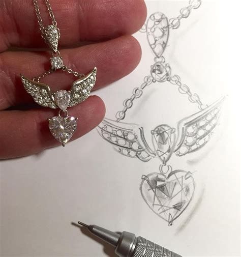 jtv jewelry wingedheart pendant only on jewelry television and www