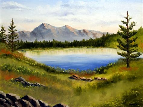 painting acrylic landscapes easy way easy landscape to paint landscape painting painting