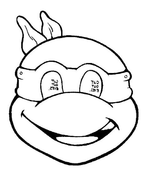 masque tortue 2 coloriage tortues coloriages pour enfants