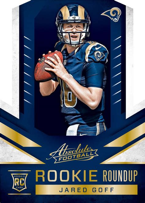 how to make a football card 2016 panini absolute football cards checklist