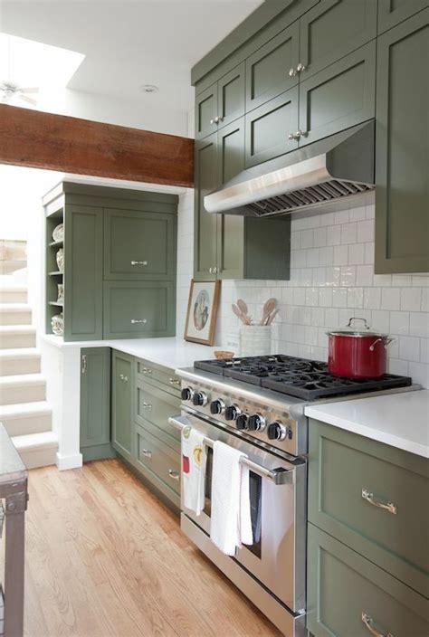 green kitchen cabinet doors green kitchen cabinets centsational