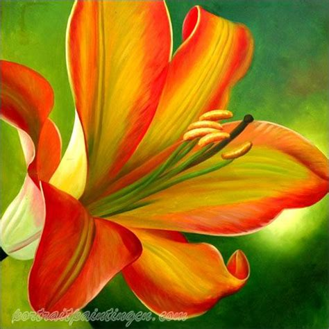 flower painting pictures flower paintings custom flower photo to painting