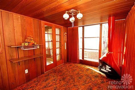 retro wood paneling sweetheart 1955 mid century modest time capsule in