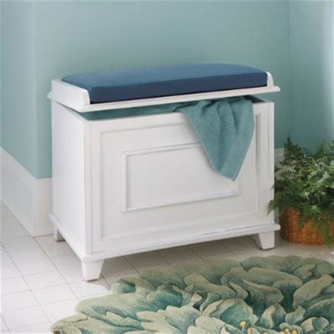 bathroom storage seats springfield storage bench with cushion grandin road