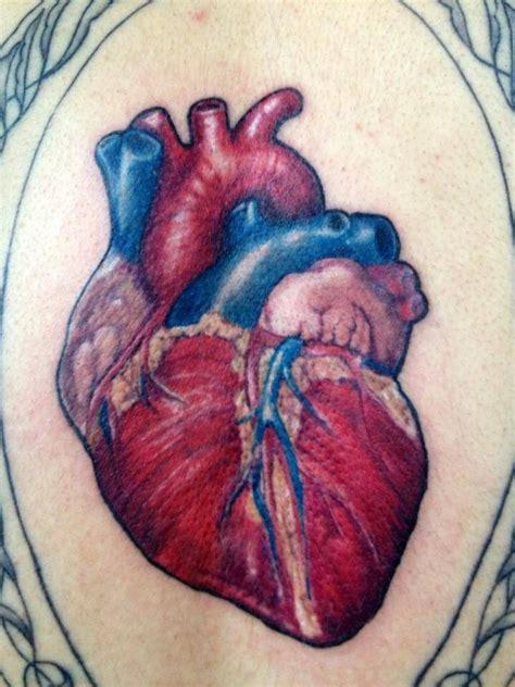 anatomical heart tattoo epic tattoos pinterest