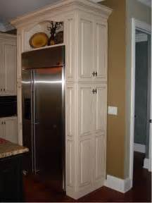 Kitchen Cabinet Remodel Cost pantry beside refrigerator home design ideas pictures