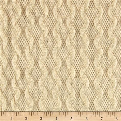 what is knit fabric scotland sweater knit ivory discount designer fabric
