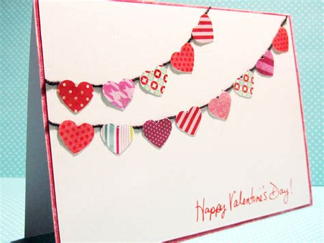 valentines day cards for to make handmade thursday valentines day card tutorials