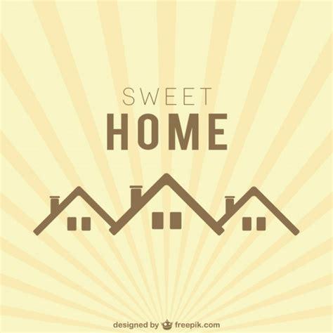 sweet home sweet home logo vector free