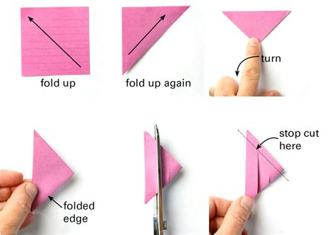 how to make origami out of sticky notes 3d paper from post it notes babble dabble do