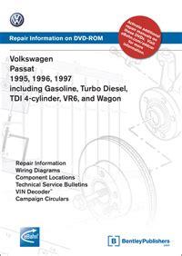 service manual old car repair manuals 1997 volkswagen eurovan parental controls thesamba com volkswagen passat passat wagon 1995 1996 1997 repair manual on dvd rom bentley publishers