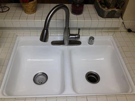 reglazing kitchen sink pkb reglazing sink reglazing