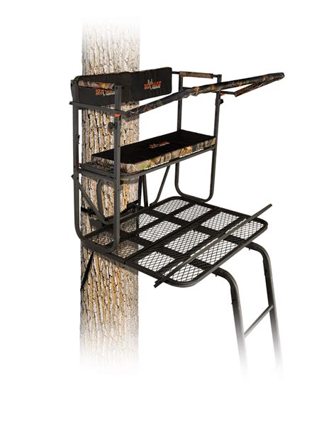 white tree stand big tree stands tree stands accessories