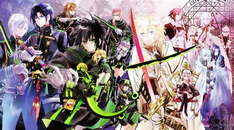 seraph of the end seraph of the end anime crossovers fimfiction