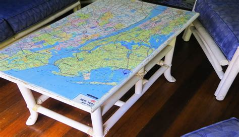 decoupage maps on furniture how to decoupage furniture with a map