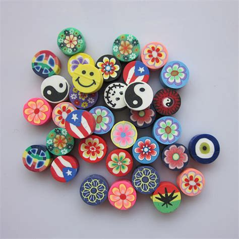 polymer clay items similar to 100 pcs polymer clay fimo clay