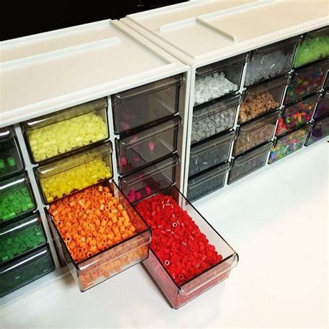 Perler Bead Storage By Nachagram Hama