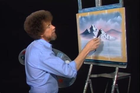 bob ross painting the universe 11 lessons we learned from bob ross on the of painting