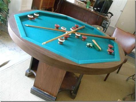 octagon bumper pool table 220 ber 1 000 ideen zu bumper pool table auf