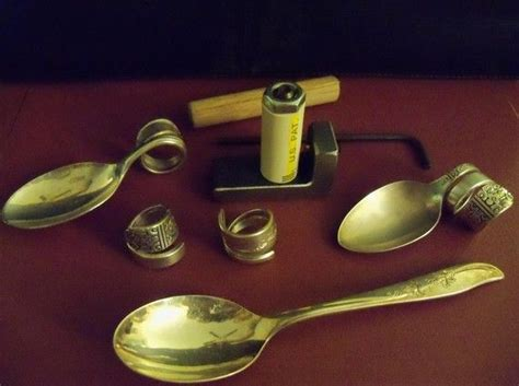 how to make a spoon bender for jewelry 51 best images about silverware bending tools on