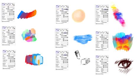 paint tool sai pro free painttoolsai brushes settings by ryky on deviantart