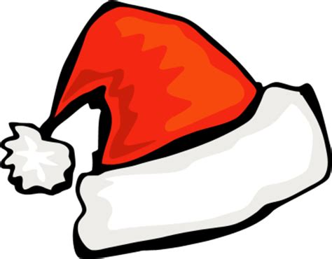 santa and hats picture of santa hat cliparts co