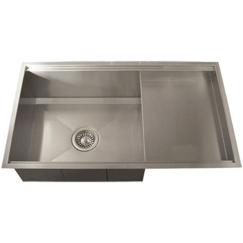 square kitchen sinks ticor tr4100 undermount 16 stainless steel square