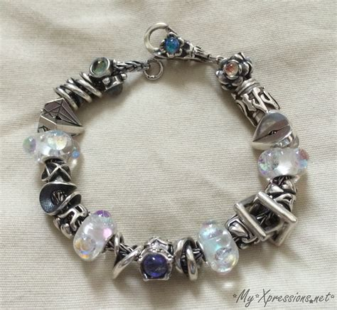 closest bead store what i m wearing my dichroic glass trollbeads bracelet