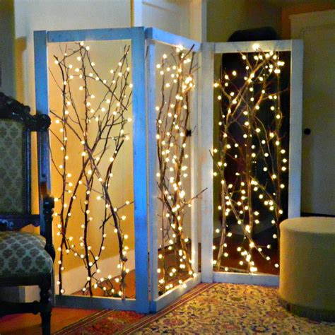 montano twinkling branches room divider diy