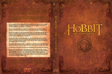 book cover picture the hobbit the tolkien edit jackson s hobbit