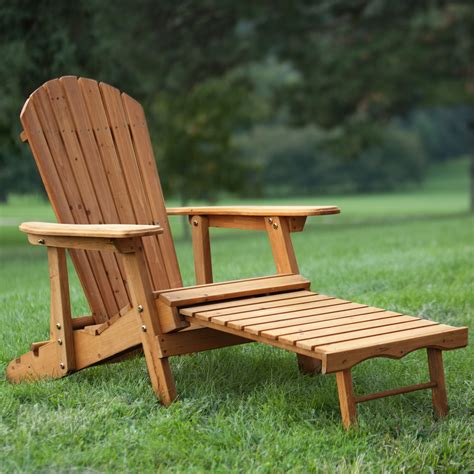 Big Adirondack Chair by Coral Coast Big Reclining Wood Adirondack Chair