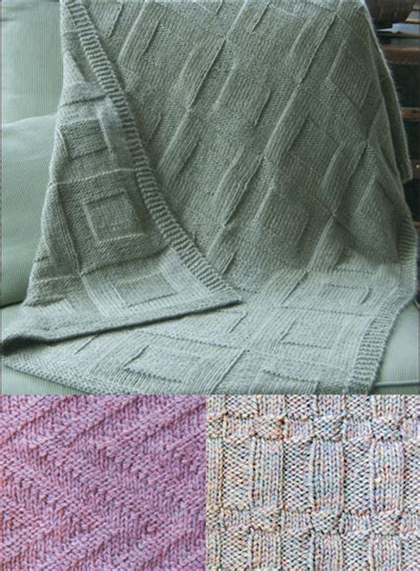 basketweave knit afghan pattern easy afghan knitting patterns in the loop knitting