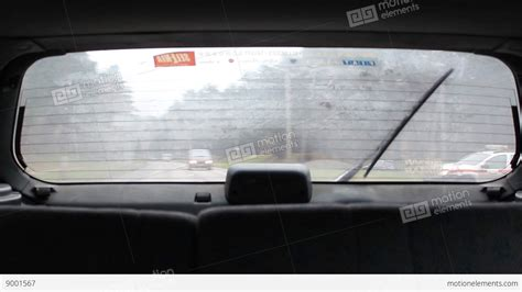 Car Wallpaper Hd Codec Machines by Car Rear Window View Stock Footage 9001567