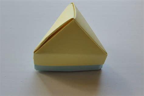 triangle box origami origami pyramid triangle box origami tutorials