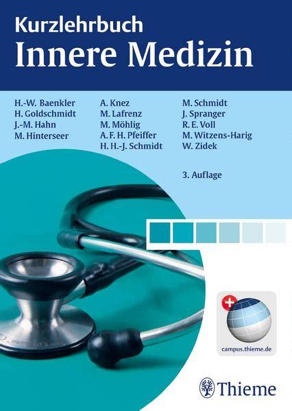 Der Innere Garten Pdf by Kurzlehrbuch Innere Medizin Hanns Wolf Baenkler Buch