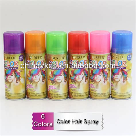 Colour Hair Paint Hair Color Spray In Display View