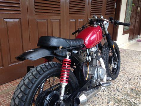 Cafe Racer Style Modifikasi by Motor Cb Style Cafe Racer Modifikasi Motor Japstyle
