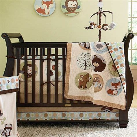 woodland creatures crib bedding crib bedding woodland animals oh baby