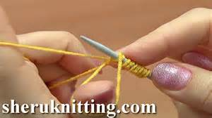 stretchy knitted cast on method elastic stretchy cast on for ribbing tutorial 1 method 6