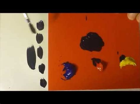 acrylic paint how to make black how to make black paint using the primary colours