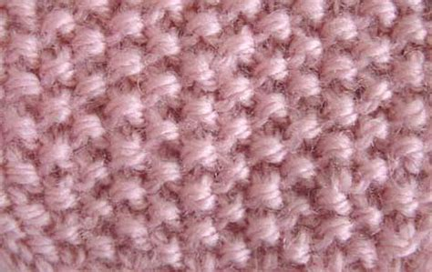 pearl one knit one seed stitch