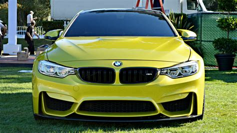 Wallpaper Car Yellow by Yellow Car Bmw M4 Wallpapers And Images Wallpapers