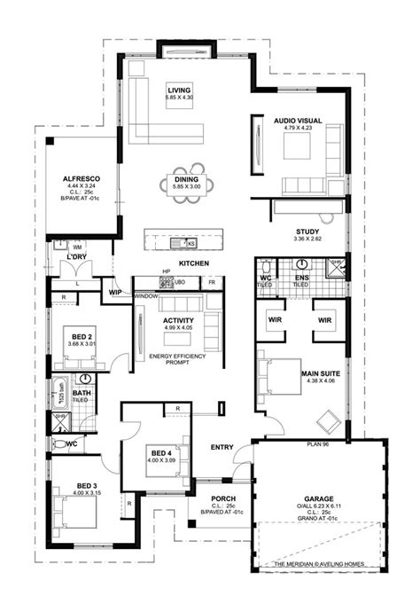 4 bedroom house designs australia 59 best home designs images on floor
