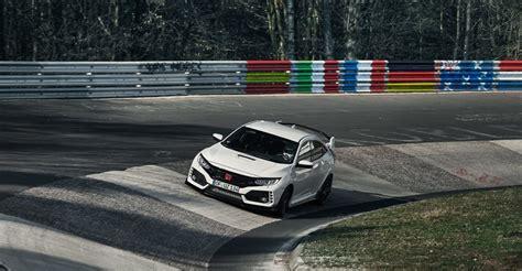 Civic Type R Nurburgring Time by 2017 Honda Civic Type R Nurburgring Record Photos