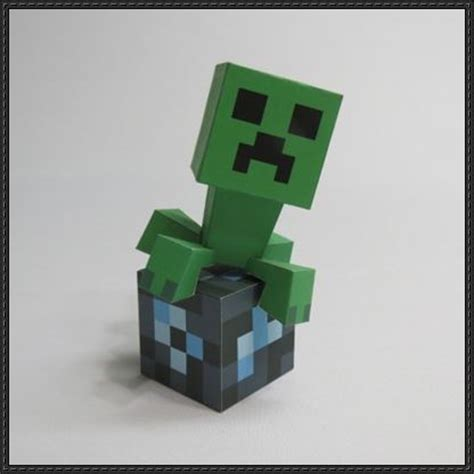 minecraft paper crafts minecraft papercraft creeper template images