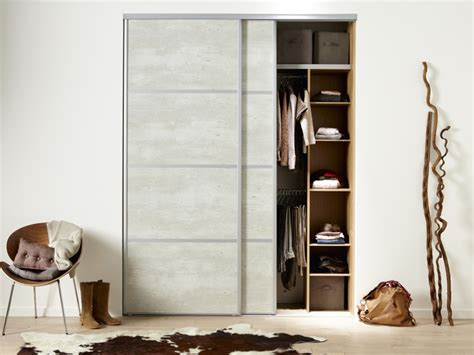 portes coulissantes placard dressing idees