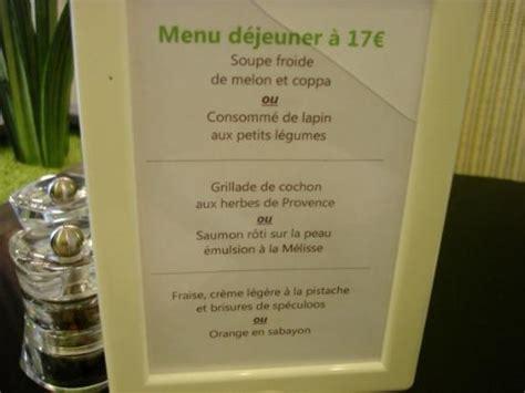 le menu du jour picture of l ilot vert boulogne sur mer