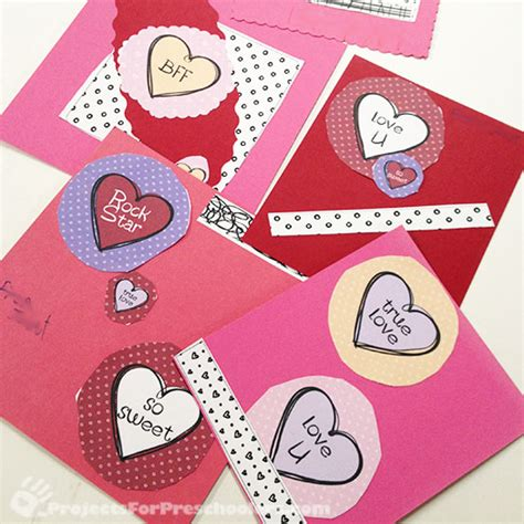 how to make your own valentines card 7 best images of own s day cards printable