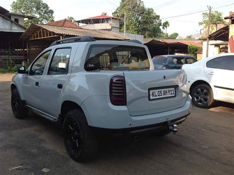 Modified To by Renault Duster Modified To Oroch Up Kerala Modifiedx