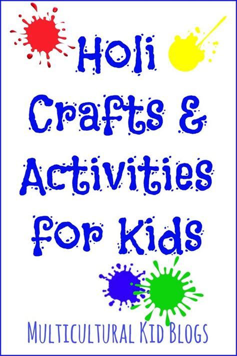 holi craft for holi crafts and activities for crafts activities